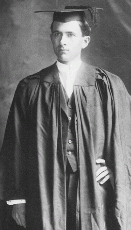 Franklin Graduates from Stanford in 1911