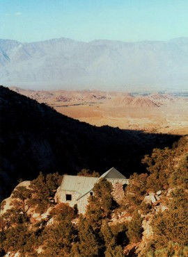 View of Ashrama Toward Owens Valley